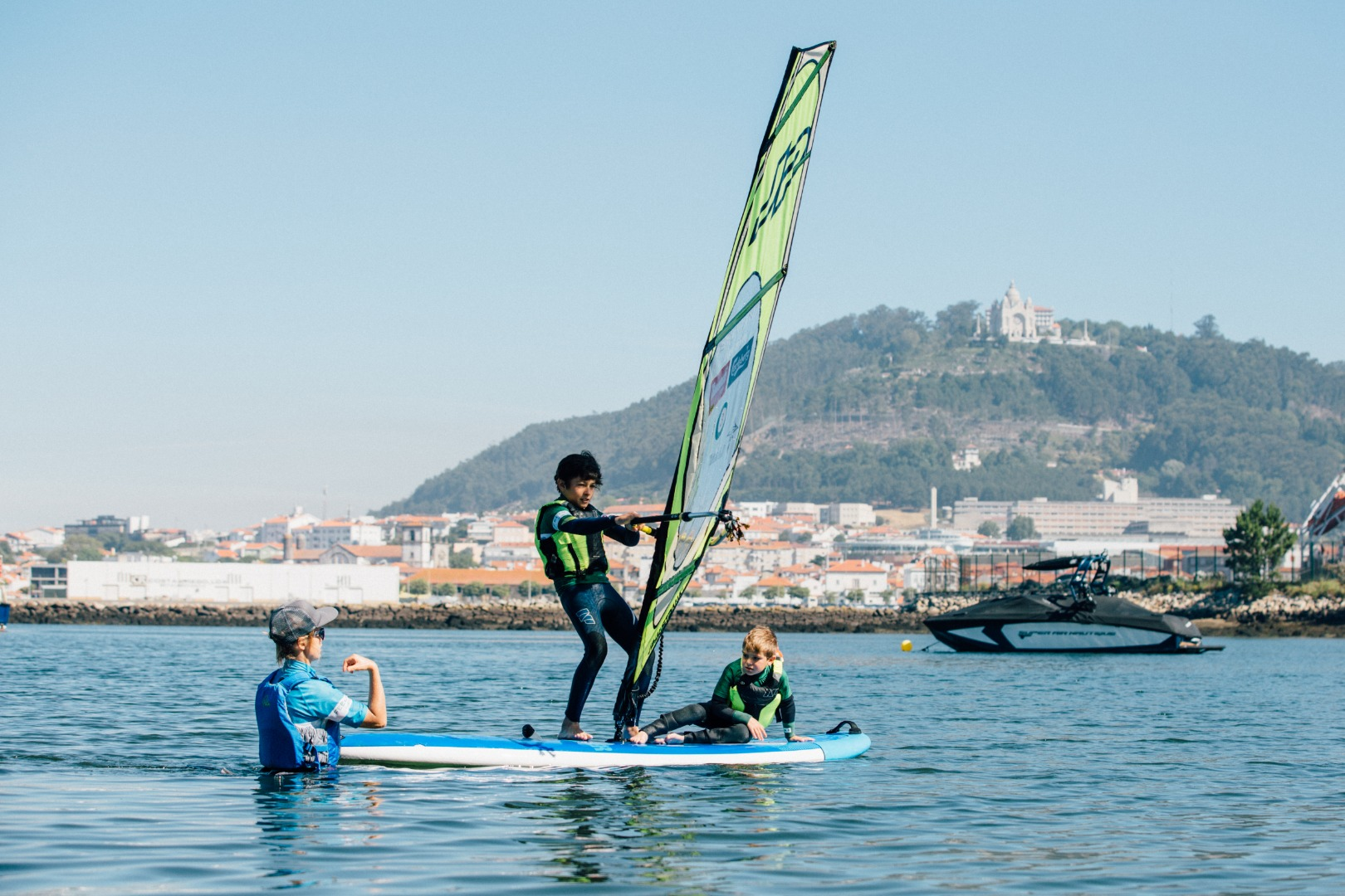Windsurfing Children School